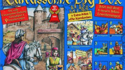 Carcassonne : des tuiles pour les gouverner tous…