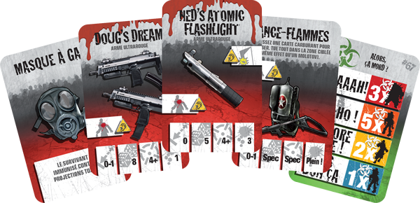 Zombicide : armes ultrarouge