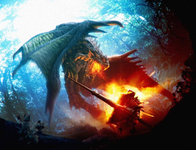 Monter Hunter 3 Ultimate : où as-tu eu ce sac en peau de dragon ?