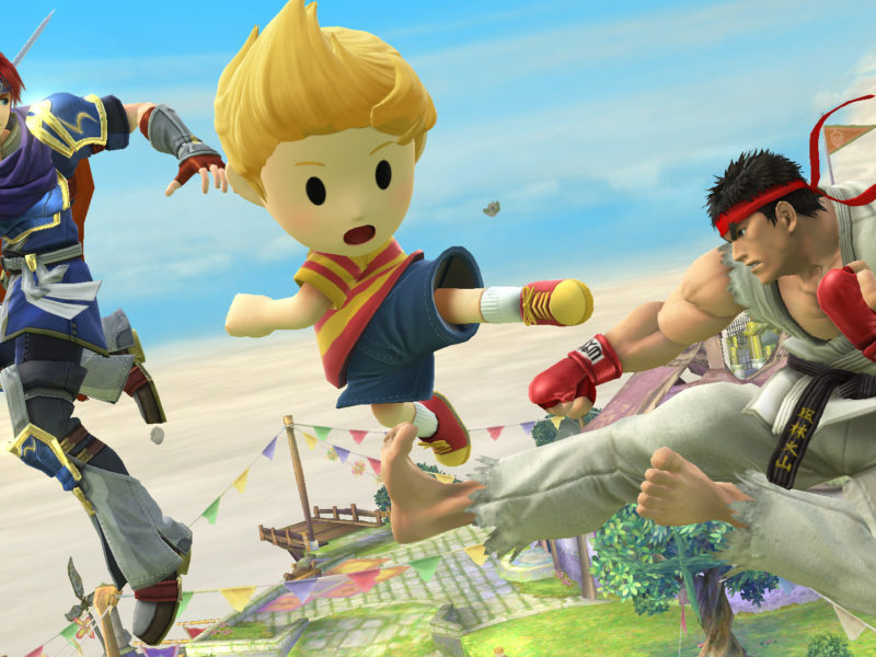 Here comes a new challenger in Super Smash Bros 4 !