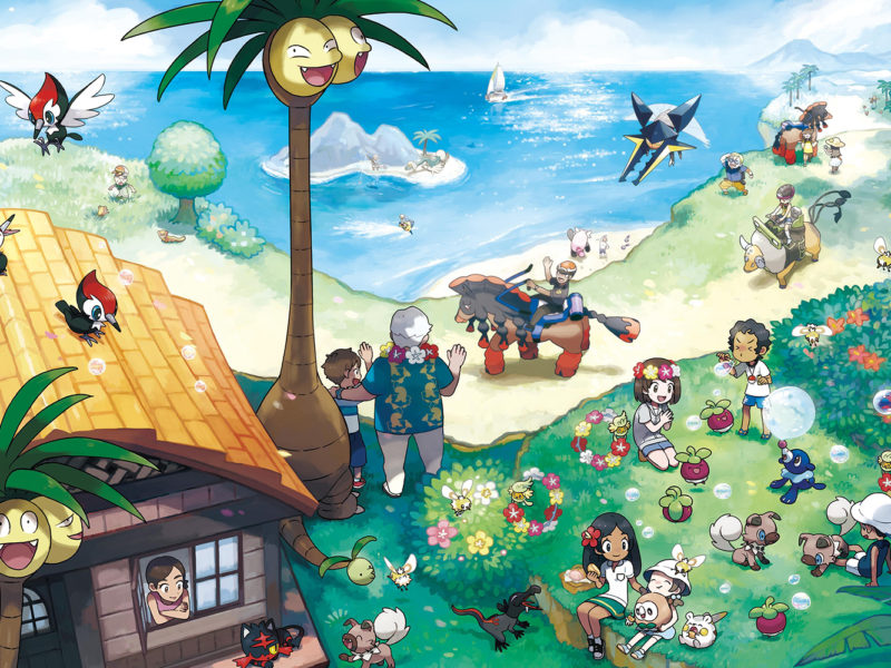 Le multijoueur de Pokémon Soleil et Lune