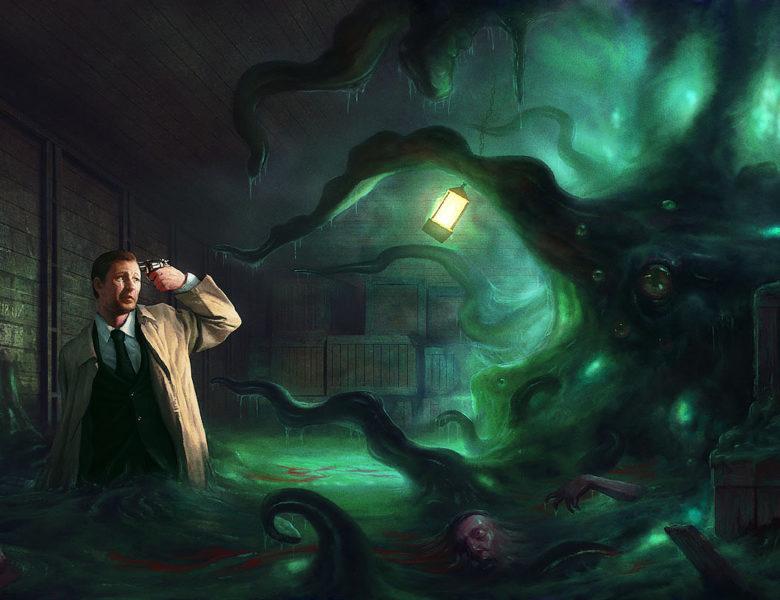 Horreur à Arkham, le jeu de cartes : l'horreur vous suit partout