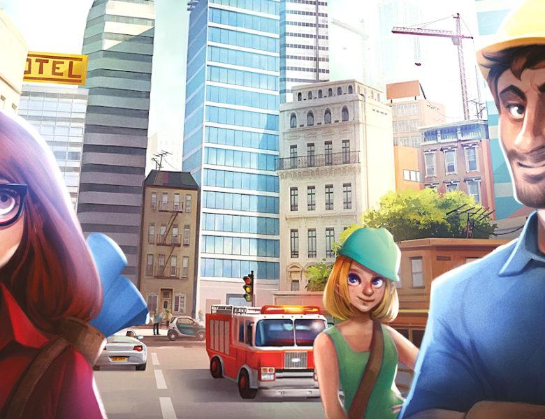 Quadropolis : Sim City en jeu de plateau, c'est possible