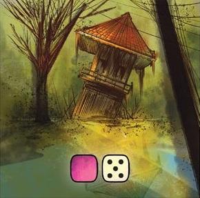 Carte du jeu de société Fuji par Wolfgang.