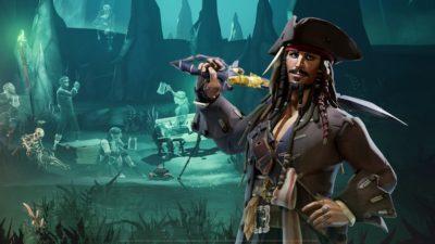Grâce à Jack Sparrow, Sea of Thieves réalise son plus gros mois d'activité